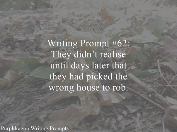 Writing Prompt 62